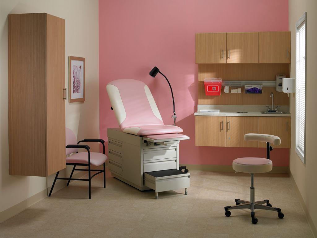 Intensa 420 Exam Bed, 972 Exam Stool, 243 Arm Chair, 503 Mobile Exam
