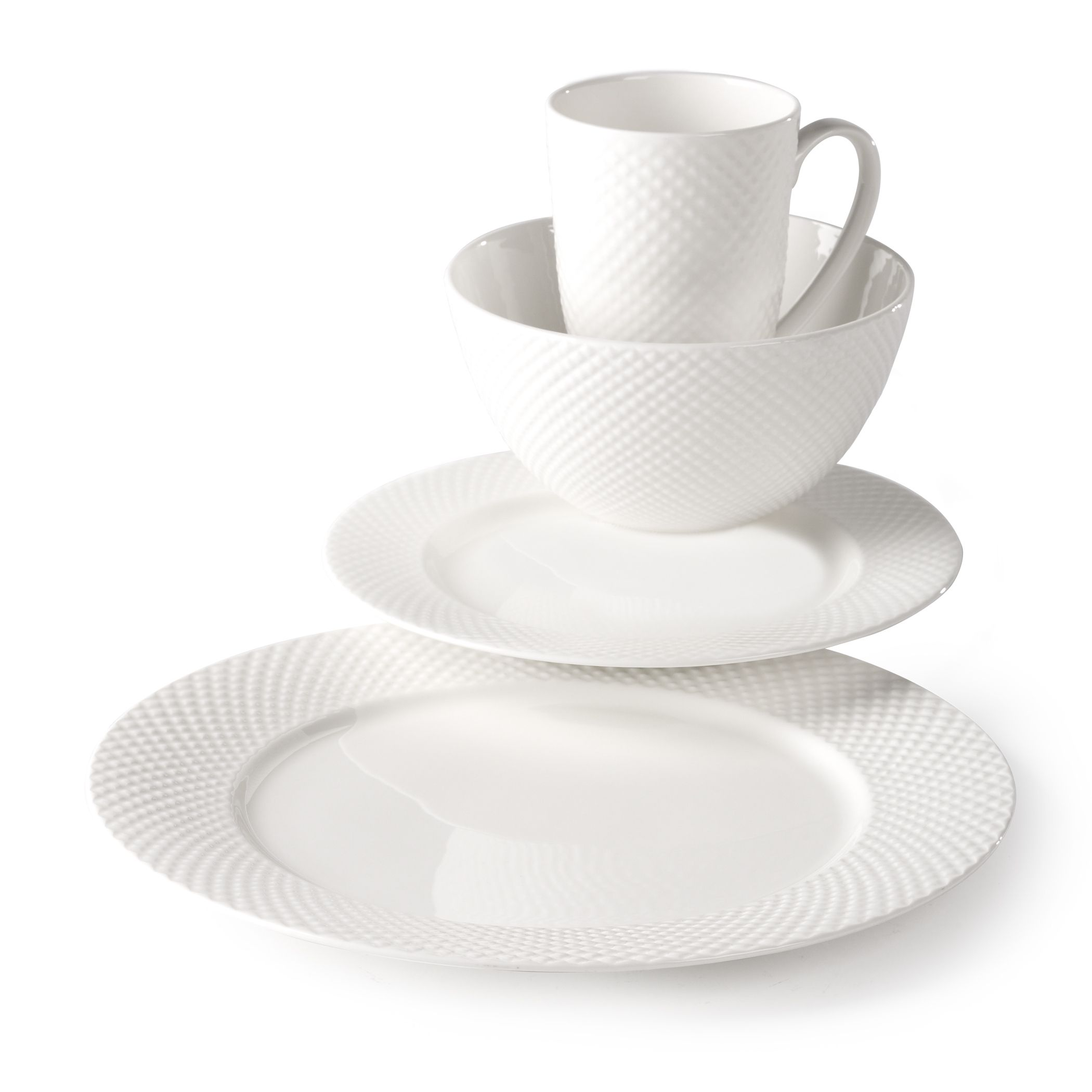 Now enjoy a stronger more affordable bone china for everyday use with this specially formulated Emilia 16-piece Bone China Dinnerware Set by Studio TU.  sc 1 st  Pinterest & Now enjoy a stronger more affordable bone china for everyday use ...
