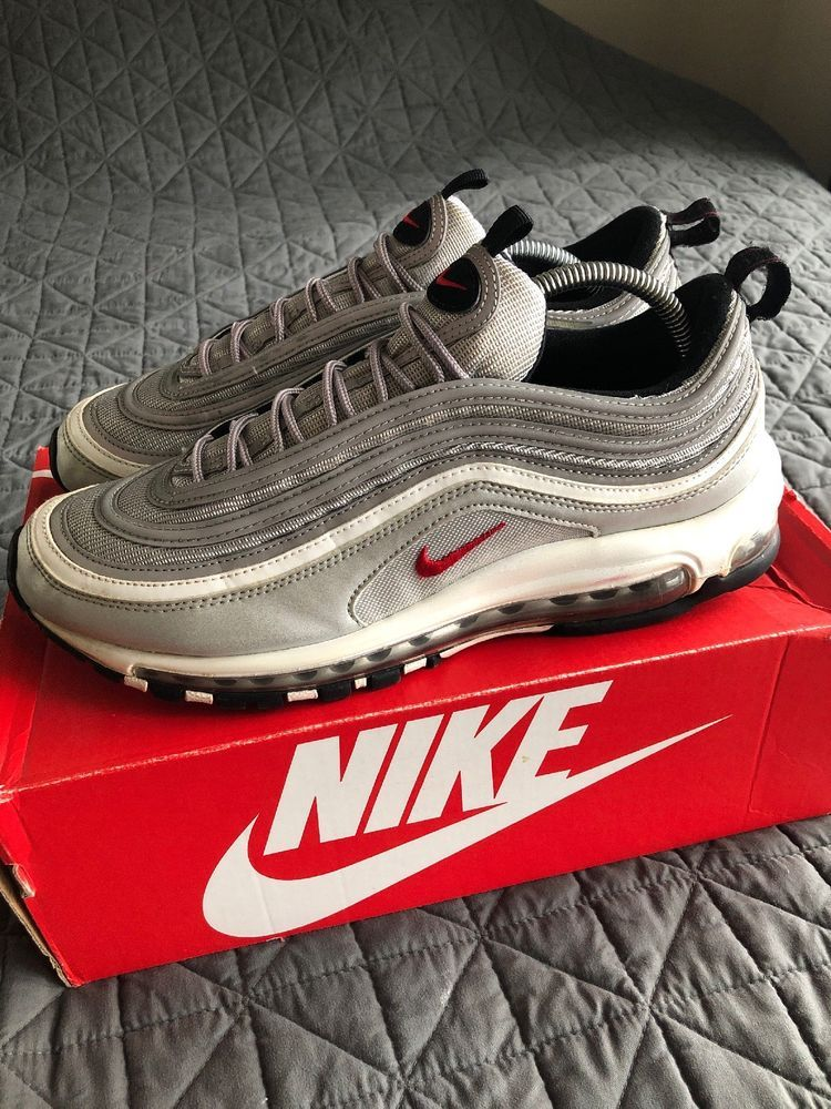 Nike Air Max 97 Silver Bullet Size 10 #fashion #clothing