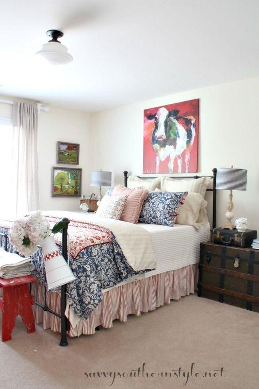 Southern Farmhouse Bedroom Ideas: Lady Antebellum Heartland Collection