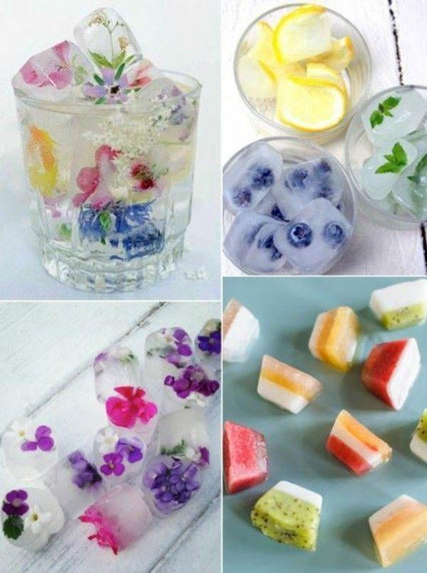 Eiswürfel Ideen Sommer Ideen bunte Würfel # Apfelkuchen # Grill # Würfel # Genießen Sie …