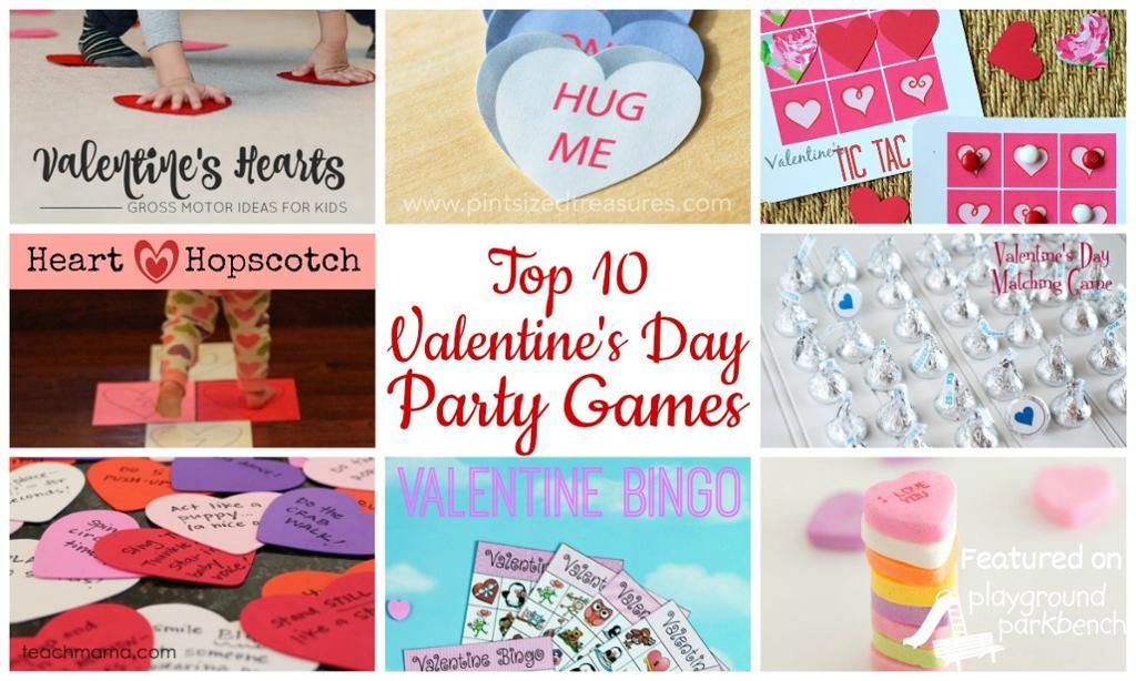 Fun Valentine's Games! http://playgroundparkbench.com/top-10-valentines-day-party-games-for-preschool/