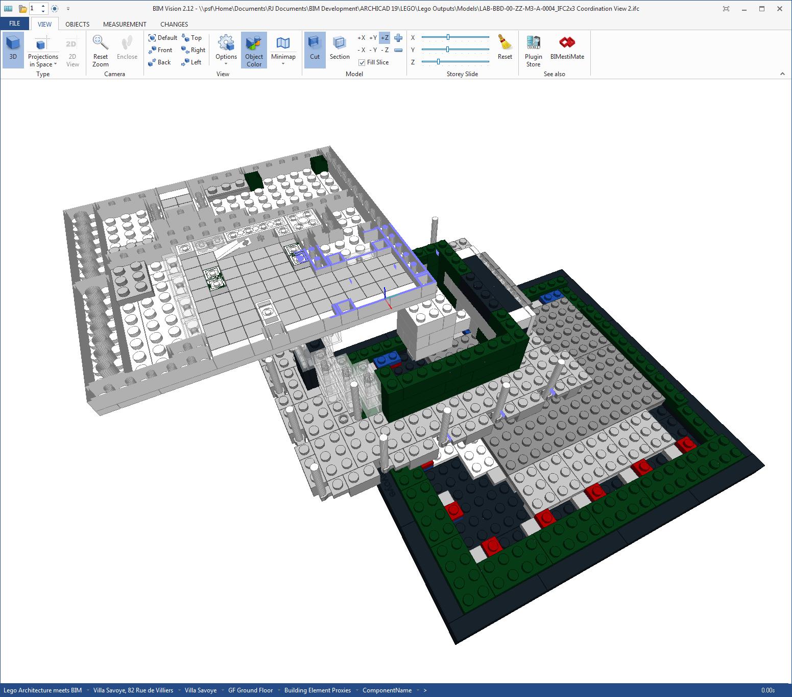 bimblog bondbryan com about BIM Vision | Lego architecture