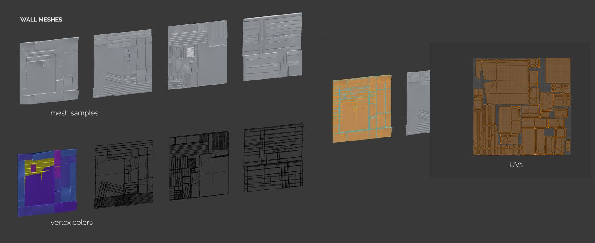 ArtStation - [Unity & Houdini E ] Procedural Shanty Town, Marina
