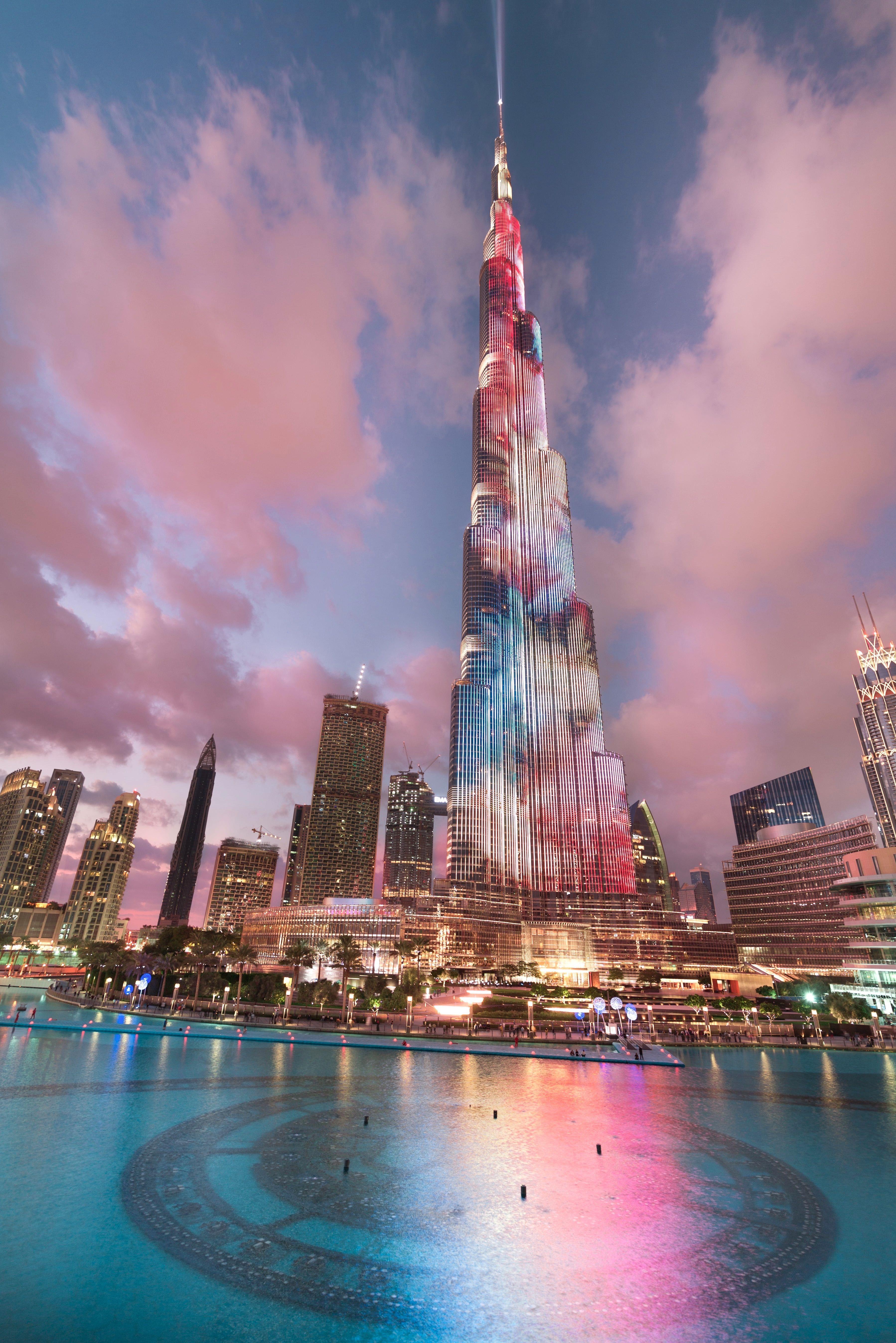 Burj Khalifa Dubai Magical City Of Lights Photography