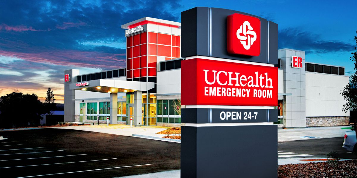 24/7 Aurora ER UCHealth Emergency Room Emergency room