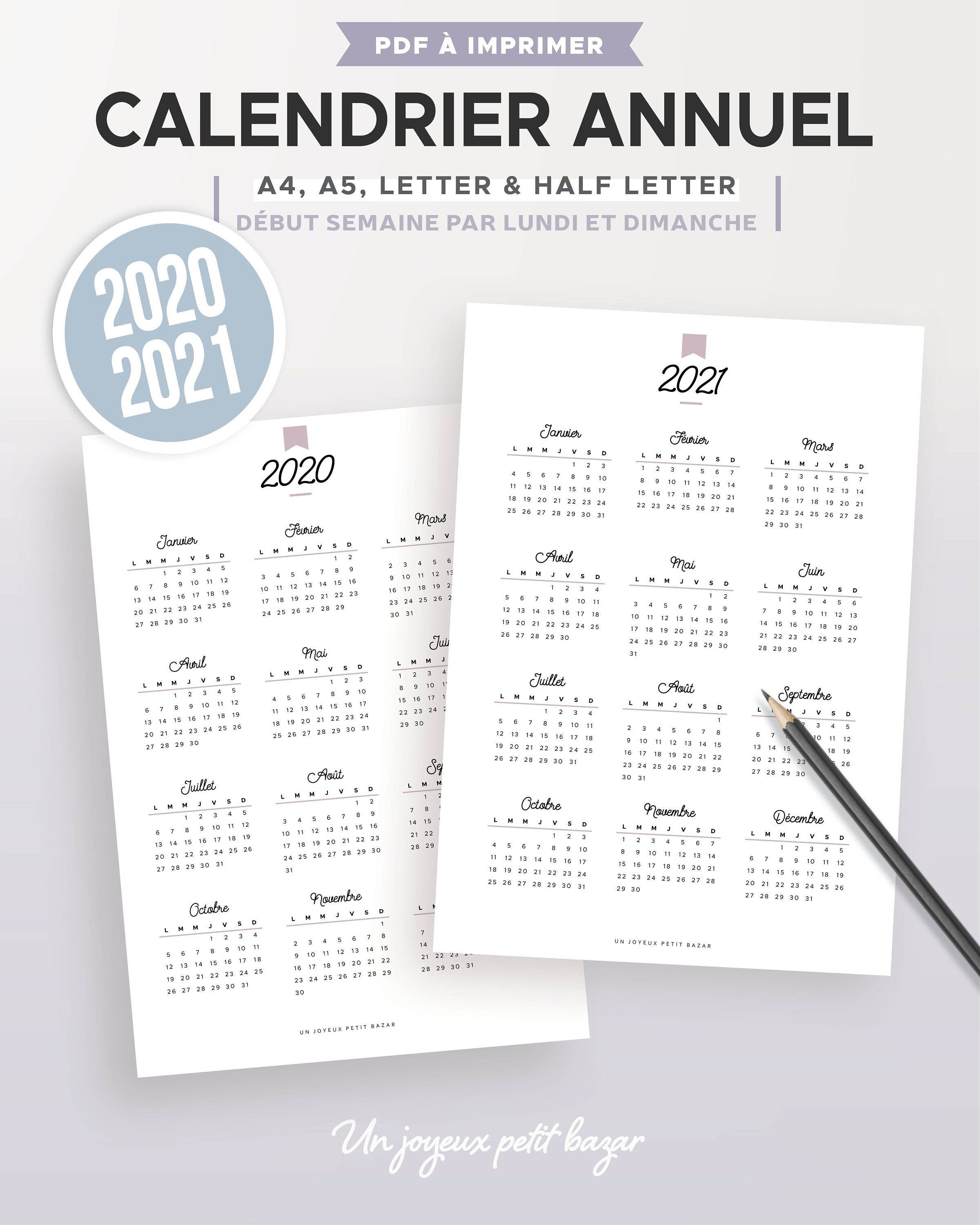 Planning Calendrier 2021 Pin on PLANNER / AGENDA / DIARY