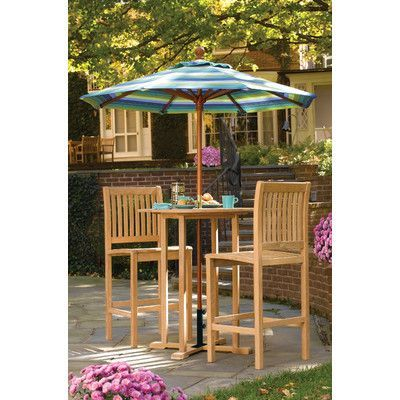 Oxford Garden Sonoma 3 Piece Bar Height Dining Set Products