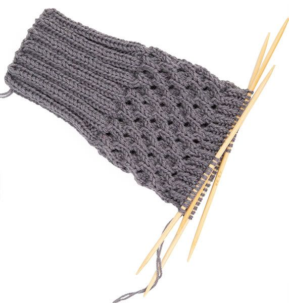 Photo of Instructions: Knit gauntlets – for boots