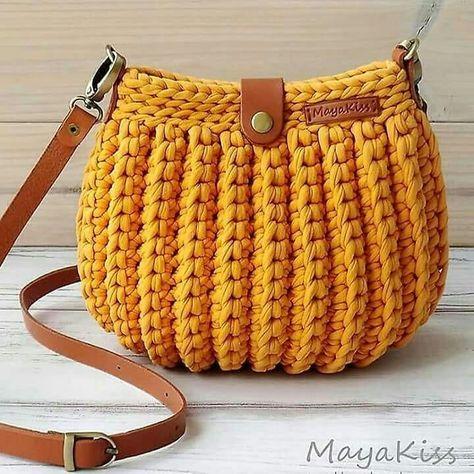 How to Crochet a Beauty and Cute Handbag or Bags? New Season 2019 - Page 21 of 49 - Crochet Blog!