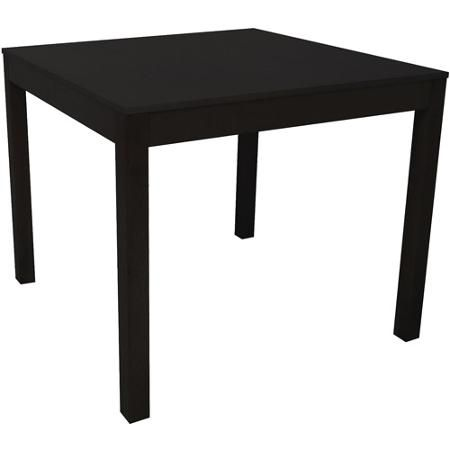 Mainstays Parsons Dining Table, Black