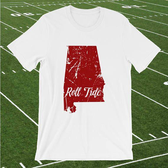 Alabama, Roll Tide, State love, Crimson Tide, football, game day tshirt