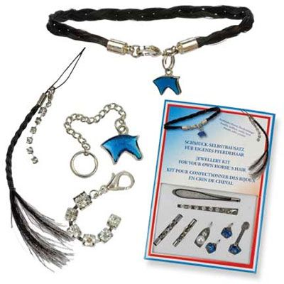 Make Your Own Horse Hair Jewelry Kit Using S Tail Saddlery