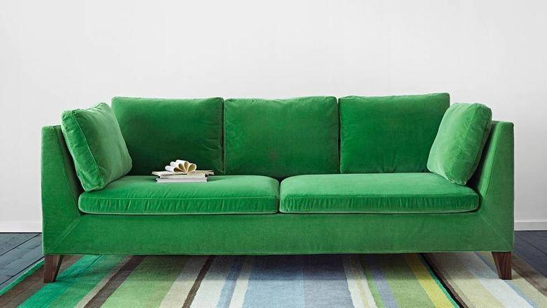 11+ Green velvet couch ikea ideas