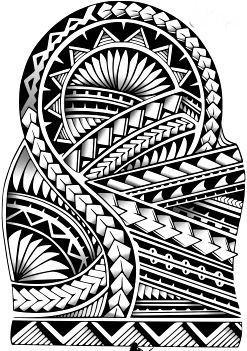 Plantillas Tatuajes Polinesios Maorie Samoano Maorí Maorie