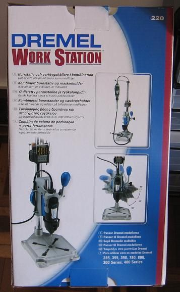 Picture of Increase the precision of a Dremel press drill