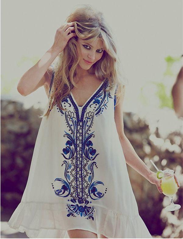 fc92d5b76035 Summer Lovin Boho Shorty Dress