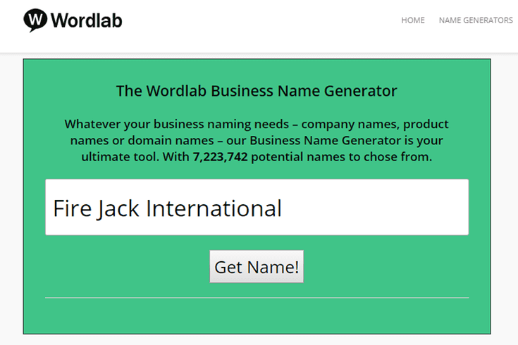 10 Awesome Free Business Name Generators Business Name Generator