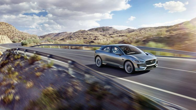 Jaguar I-Pace Concept Is Hot & Smooth — All-Electric Production SUV Slated For 2018