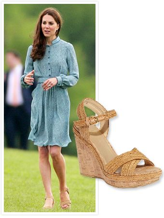 "76e96fb57d7  KateMiddleton gave ""RepliKates"" a new springtime shoe to covet    StuartWeitzman s braided"