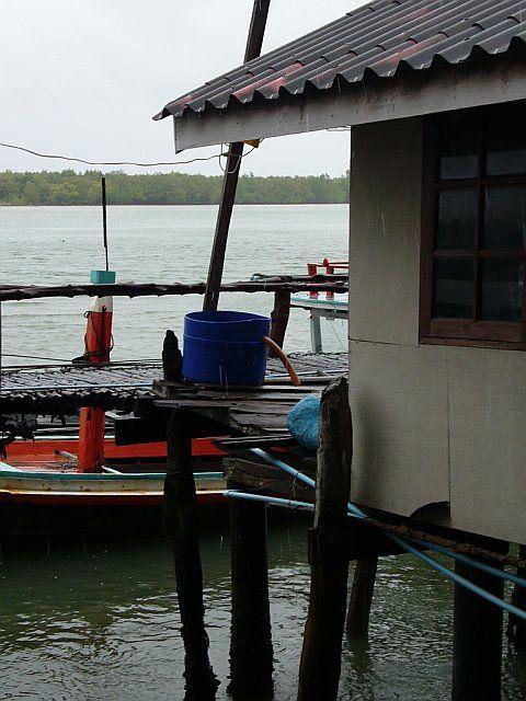 floating village in thailand