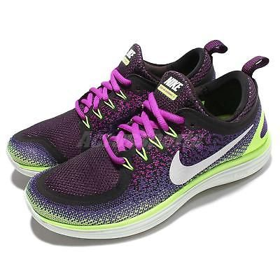 1b32d63aefd8 Wmns Nike Free RN Distance 2 II Run Purple Green Women Running Shoes 863776 -501