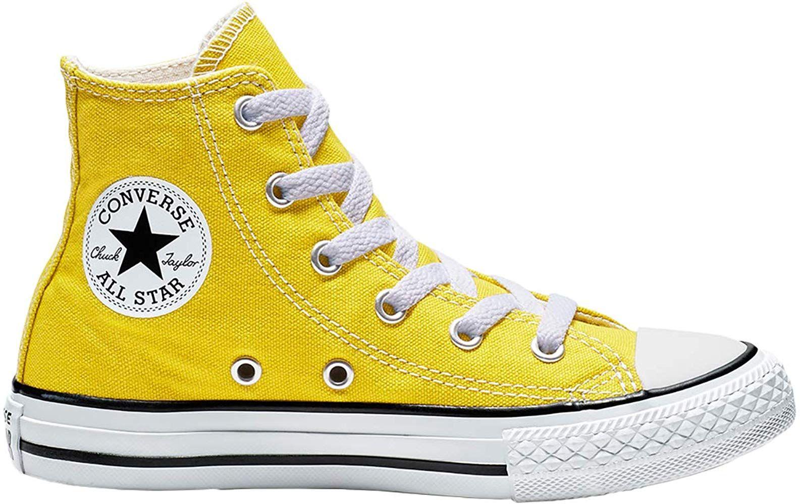 Ctas Hi Zapatos Deportivos Ninos Amarillo 663629 Amazon Es Zapatos Y Complementos Converse Chuck Zapatos Deportivos Zapatos