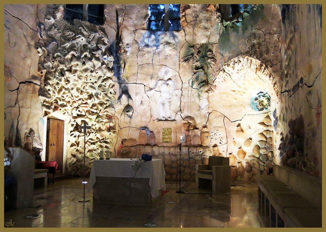 Miquel Barceló Catedral Palma de Mallorca DOMVS PVCELAE: Visita virtual: CAPILLA DEL SANTÍSIMO, alegoría de los frutos del mar y de la tierra