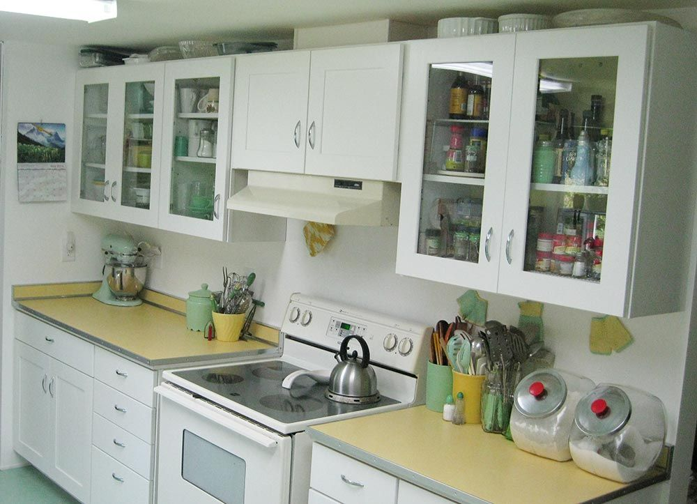 Vintage Kitchen Countertops