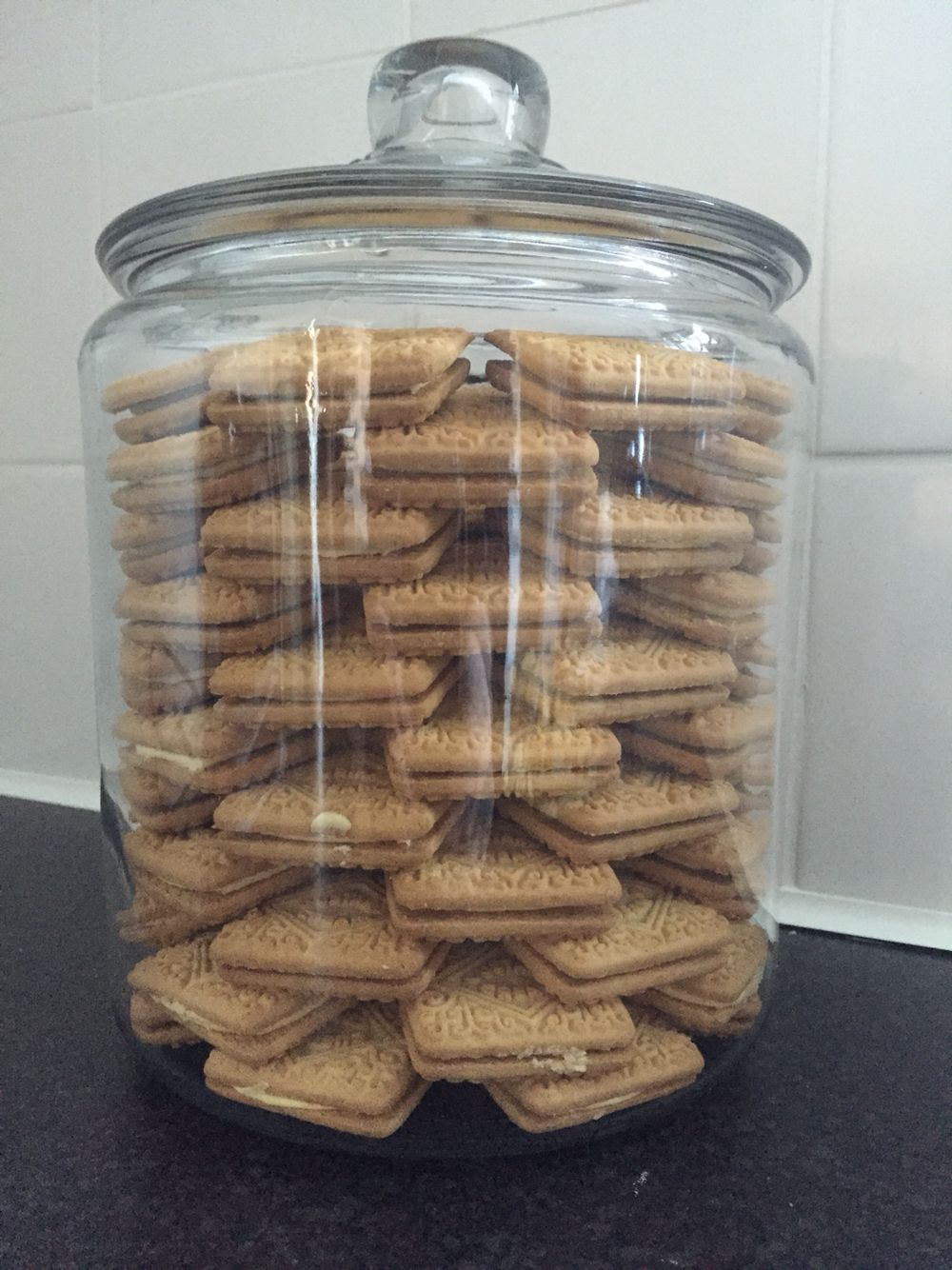 i got inspired from khloe kardashian!!!! i love my new cookie jar