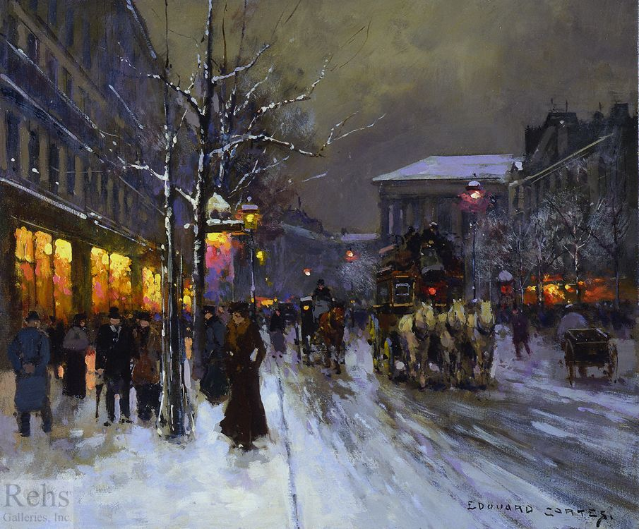 Célèbre Edouard Leon Cortes (1882-1969) - Paris: Part II | Décoration  DV47