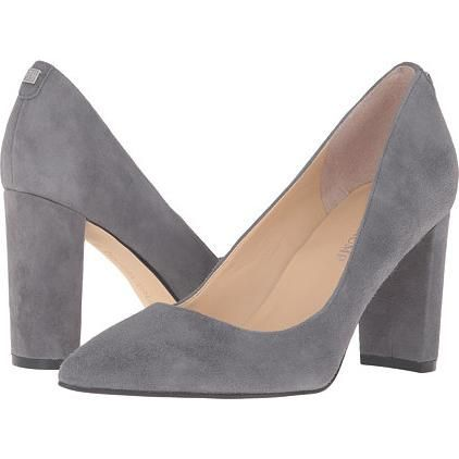 Ivanka Trump Katie Suede Pumps in New Deep Grey as seen on Ivanka Trump