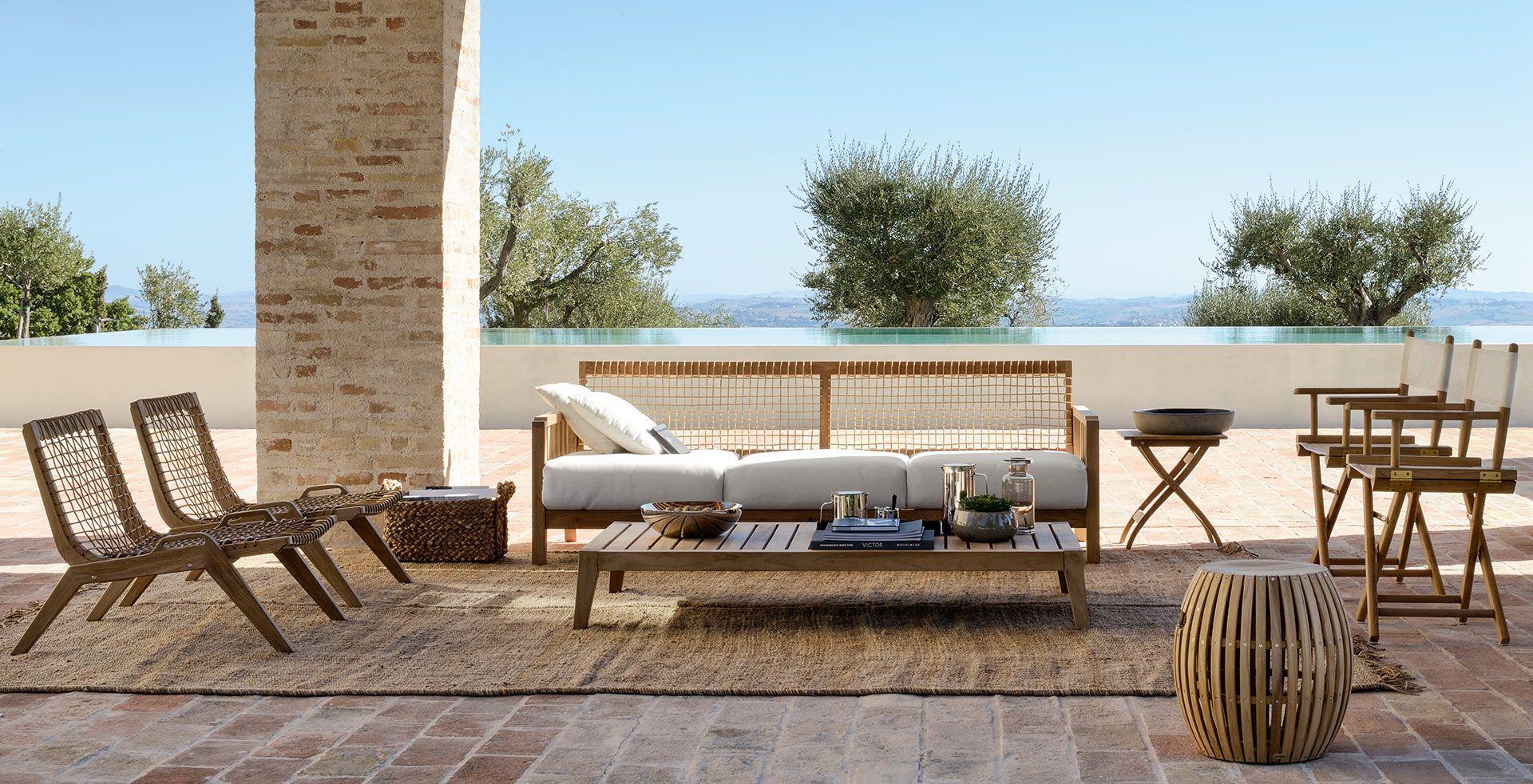 Meubles design de jardin et terrasse Unopiù | Idées en bloc et bloc ...