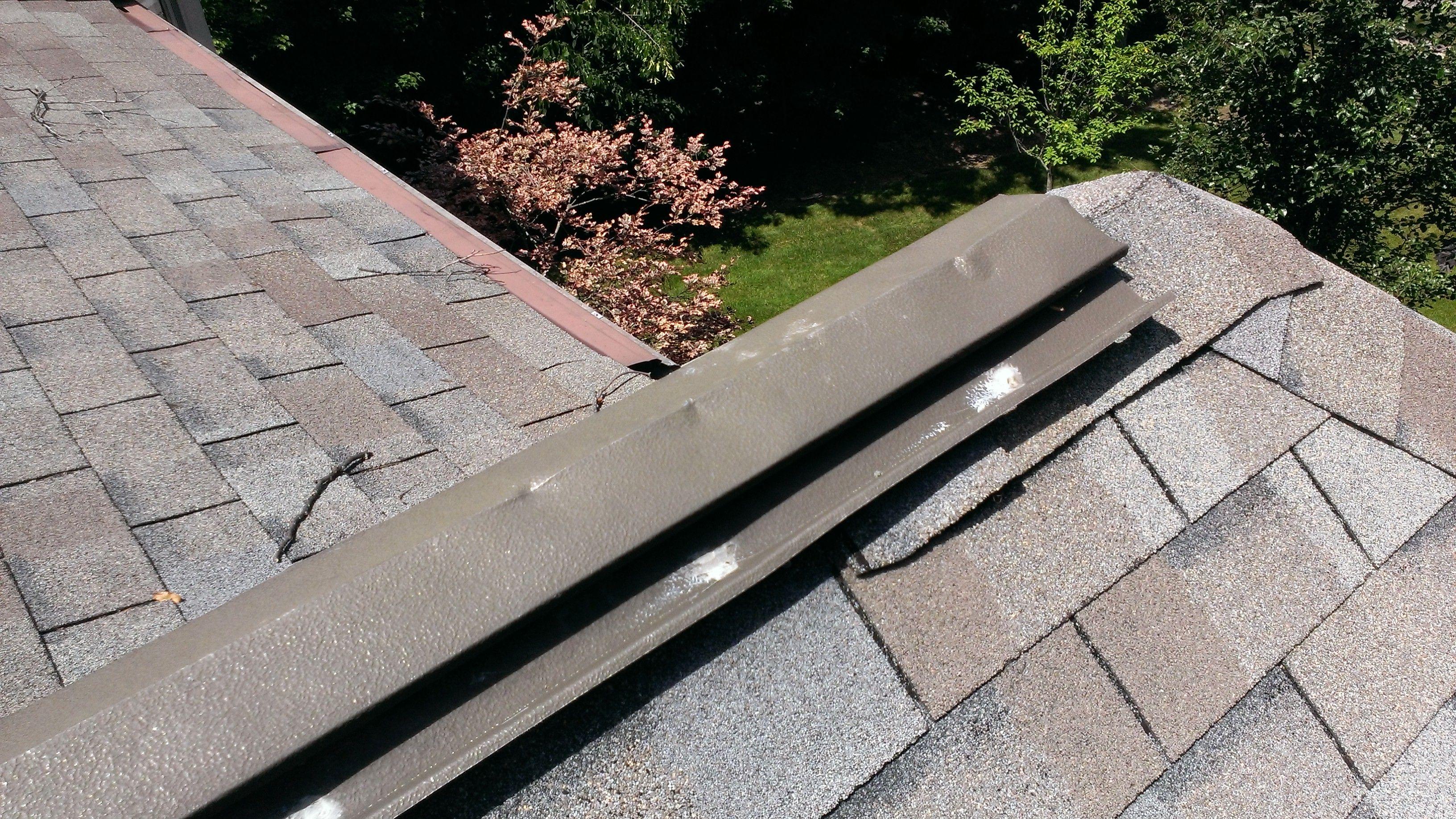 More hail damage hail sidewalk damaged