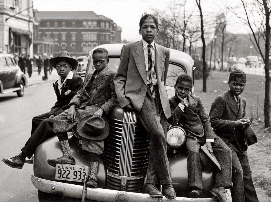 Niños de Chicago (1941).