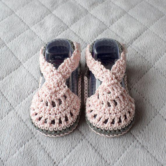 crochet baby sandals baby girl sandals baby girl shoes. Black Bedroom Furniture Sets. Home Design Ideas