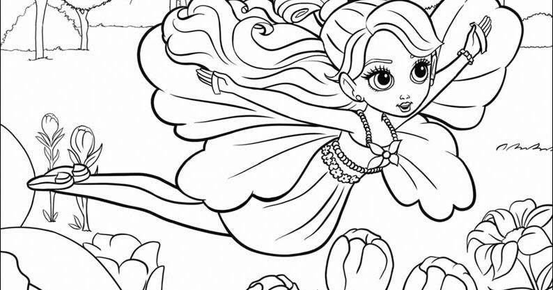 26 Gambar Kartun Barbie Untuk Diwarnai Belajar Mewarnai Gambar