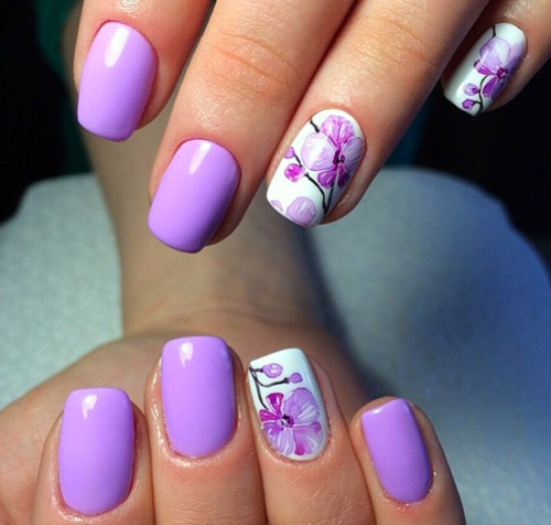 Pin By Irma On Nails Pinterest Purple Nail And Manicure