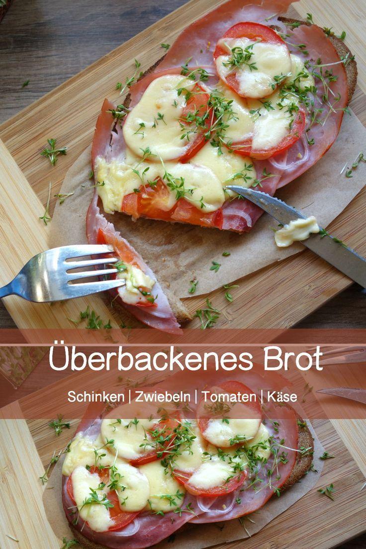 Überbackenes Brot mit Schinken und Tomaten – Carey&CleanEatingS