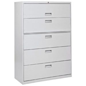 Beautiful 5 Drawer File Cabinet