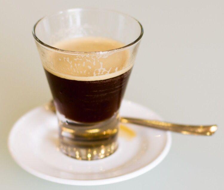 Caffè in vetro
