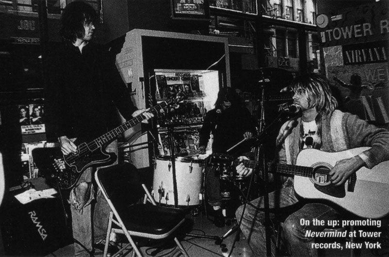 Nirvana Live At Tower Records New York City September 28 1991