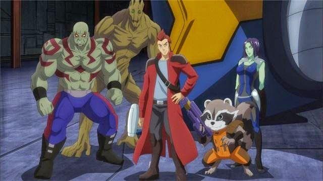 Comic soon: i guardiani della galassia in compagnia degli aven