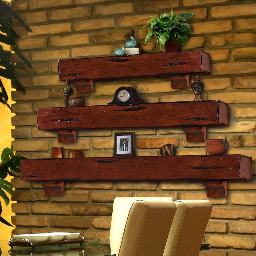 Pearl Mantels Shenandoah Traditional Fireplace Mantel Shelf