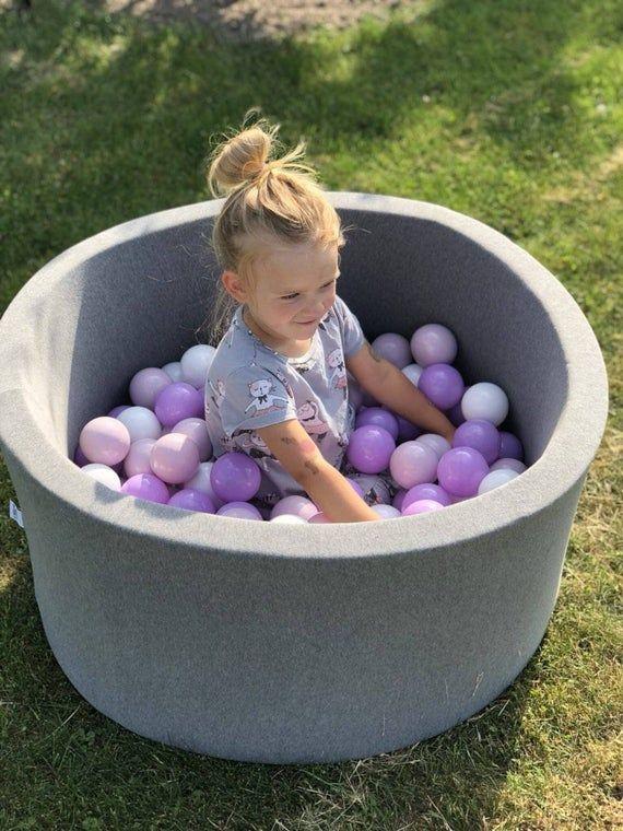 Ball pit -80x40cm-160 balls - toddler ball pit in 2020 ...