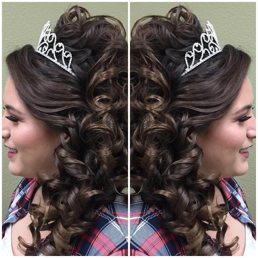 Quince Hairstyles find this pin and more on quince hairstyles by kidsrocknoahbib 20 Absolutely Stunning Quinceanera Hairstyles With Crown