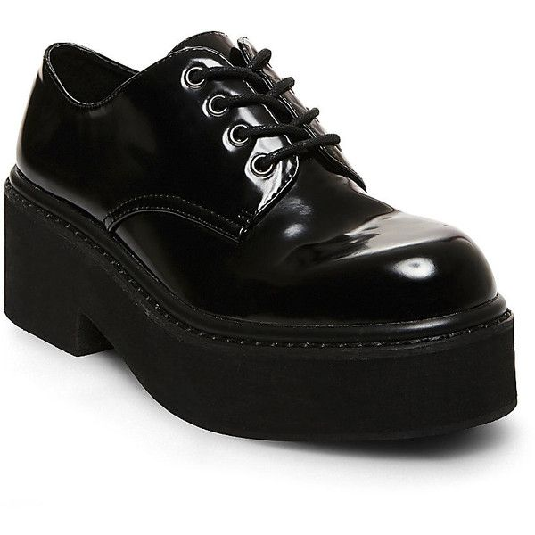Steve Madden Women s Wyneee Oxford Shoes ( 50) ❤ liked on Polyvore  featuring shoes cfdd799bf