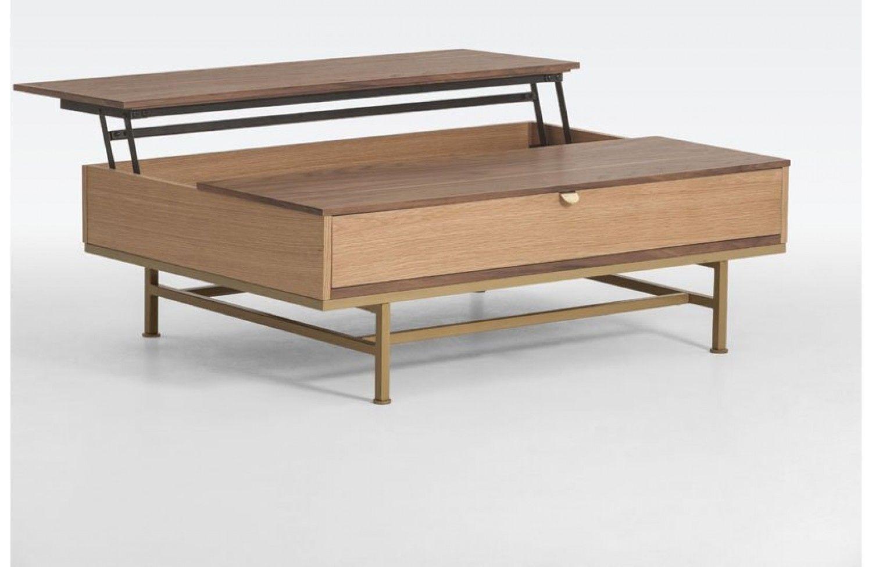 Portobello Table Basse Relevable En Bois Meubles Sodezign