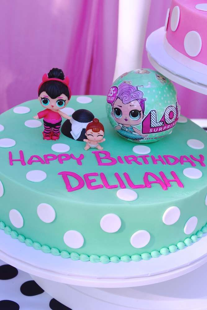 Lol Surprise Doll Birthday Party Ideas Lol Surprise