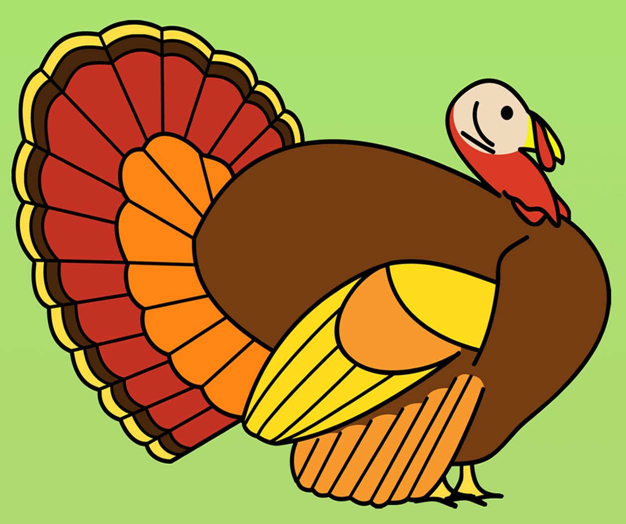 Turkey Clip Art Turkey Clip Art 14 Jpg Thanksgiving Art